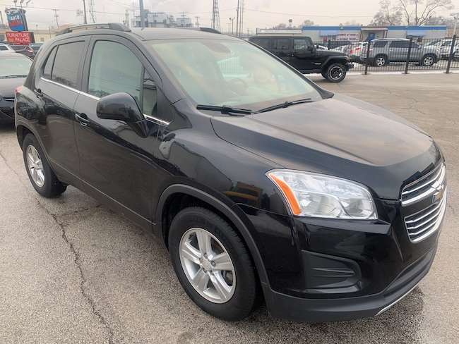 Used 2015 Chevrolet Trax LT SUV for sale in Oregon, Ohio