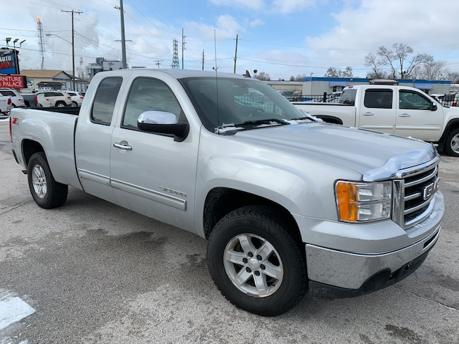Used 2010 GMC Sierra 1500 SLE Truck Extended Cab for sale in Oregon, Ohio