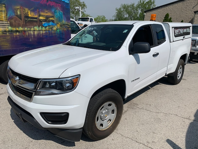 Used 2015 Chevrolet Colorado Truck Extended Cab for sale in Oregon, Ohio