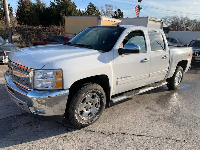 Used 2012 Chevrolet Silverado 1500 LT Truck Crew Cab for sale in Oregon, Ohio