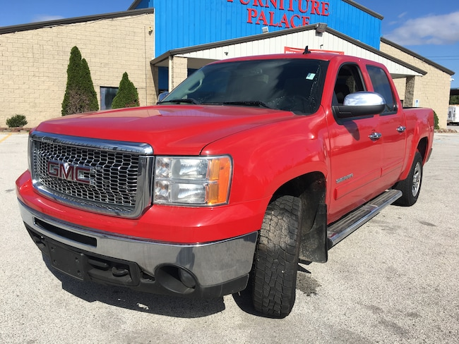 Used 2011 GMC Sierra 1500 SLE Truck Crew Cab for sale in Oregon, Ohio