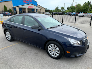 Used 2011 Chevrolet Cruze LS Sedan for sale in Oregon, Oh