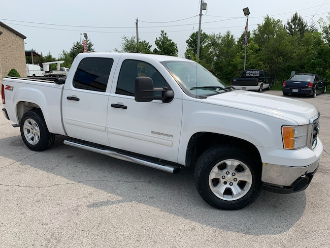 Used 2010 GMC Sierra 1500 SLE Truck Crew Cab for sale in Oregon, Ohio