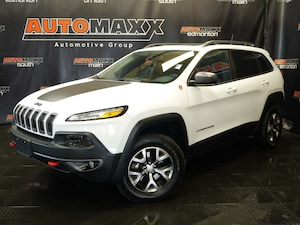 2018 Jeep Cherokee Trailhawk! Leather-Nav-Roof!