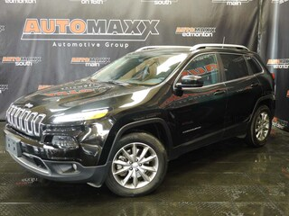 2017 Jeep Cherokee Limited! Leather-Pano Roof! SUV