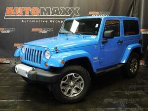 2012 Jeep Wrangler Sahara!