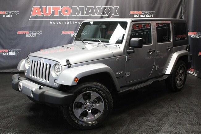 2017 Jeep Wrangler JK Unlimited Sahara! Nav! SUV