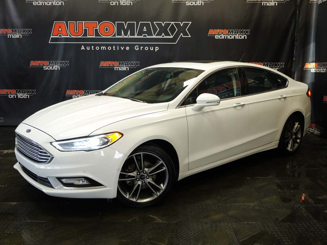 Used 2017 Ford Fusion For Sale at Automaxx Edmonton | VIN