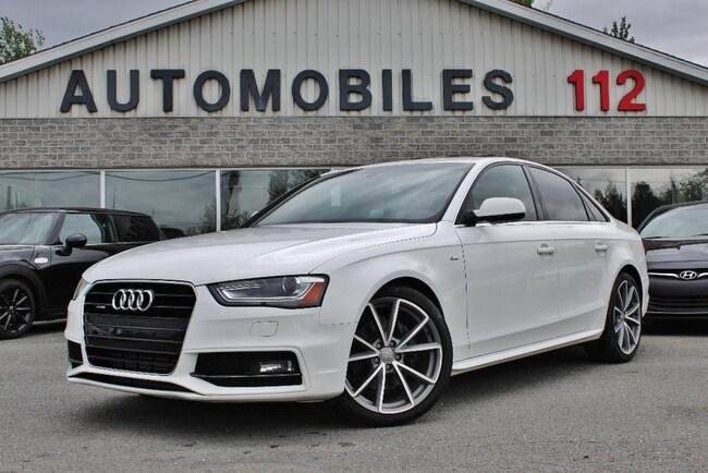 2015 Audi A4 Progressiv plus S-line / GPS / Drive select / Camé Sedan