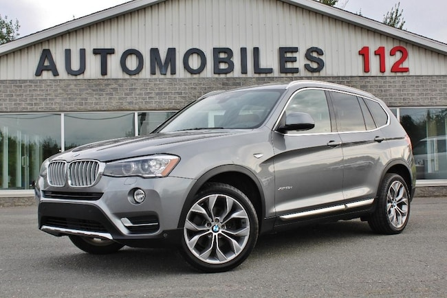 2016 BMW X3 xDrive28d Sport package / GPS / Toit pano / Heads SUV