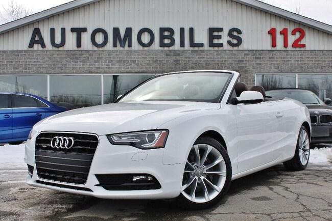 2014 Audi A5 Technik S-line Convertible / GPS / B&O / Chauffe n Convertible