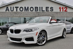 2016 BMW Série 2 228i xDrive M package / 6000km Convertible