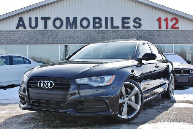 2015 Audi A6 3.0T Technik / Black optic / GPS / Cam 360 Sedan