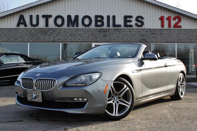 2012 BMW Série 6 650i Cabriolet / GPS / Cam 360 / Heads up Convertible