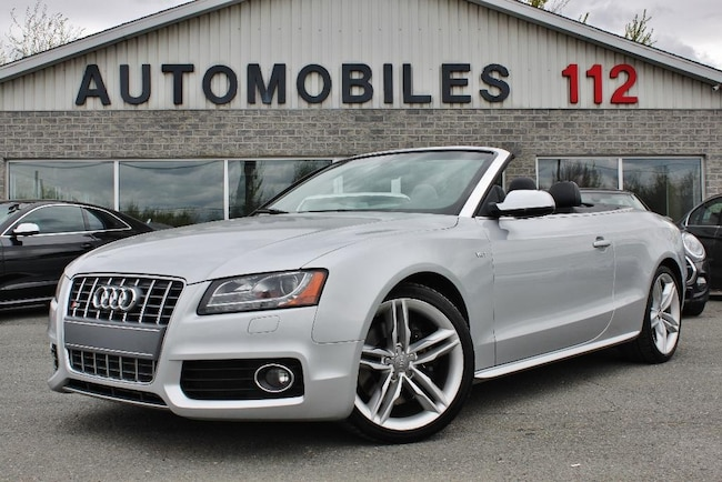 2012 Audi S5 RESERVE/RESRVED Convertible