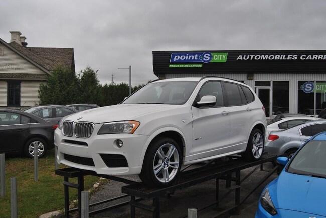 2014 BMW X3 xDrive28i M package, Navigation, pano SUV