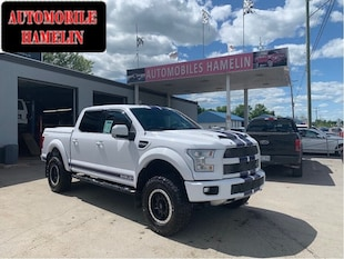 2016 Ford F-150 shelby 750hp  tres rare  le seul Camion