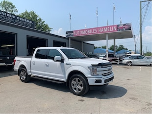 2018 Ford F-150 LARIAT sport crew Camion