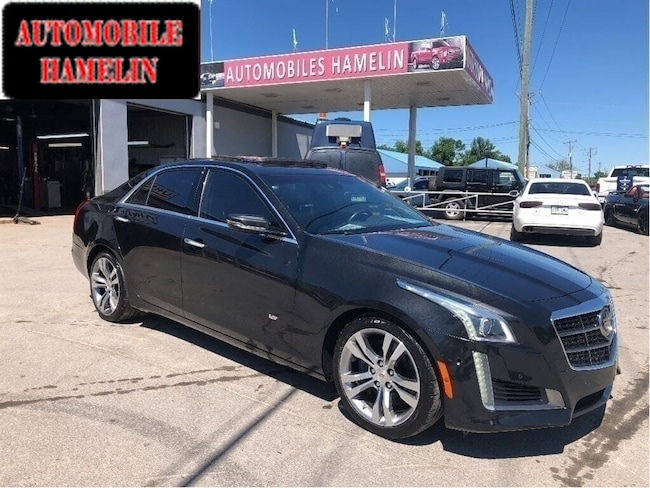 2014 Cadillac CTS Vsport  twin turbo gps toit mags  bas kilo Berline