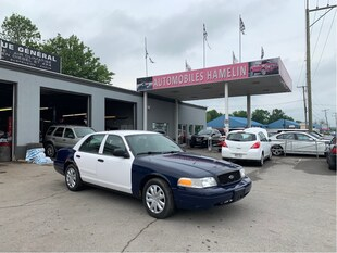 2010 Ford Police Interceptor Sedan police pack Berline