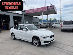 2017 BMW 3 Series 320i xDrive sport line gps full cuir rouge Berline