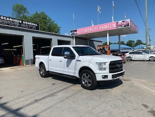 2017 Ford F-150 2017 Ford F-150 - 4WD SuperCrew 145  Lariat Camion