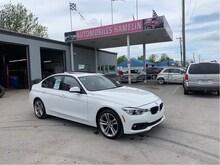2017 BMW 3 Series 320i xDrive sport line gps full cuir rouge Berline