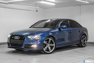 2015 Audi S4 3.0T TECHNIK NAV BLACK OPTICS ROTORS 19 Berline