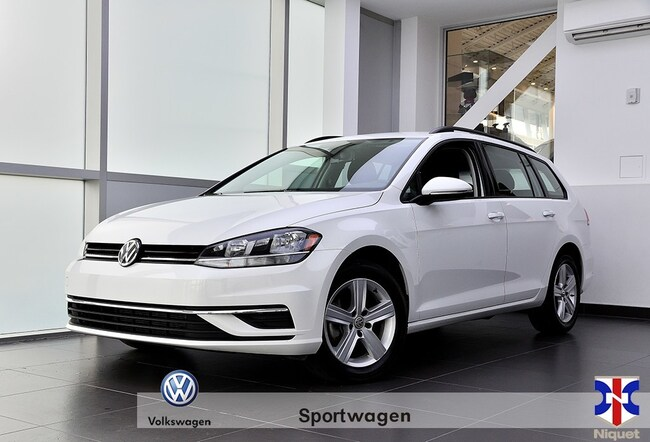 2018 Volkswagen Golf Sportwagen Trendline 4mot Trendline 4Motion Familiale
