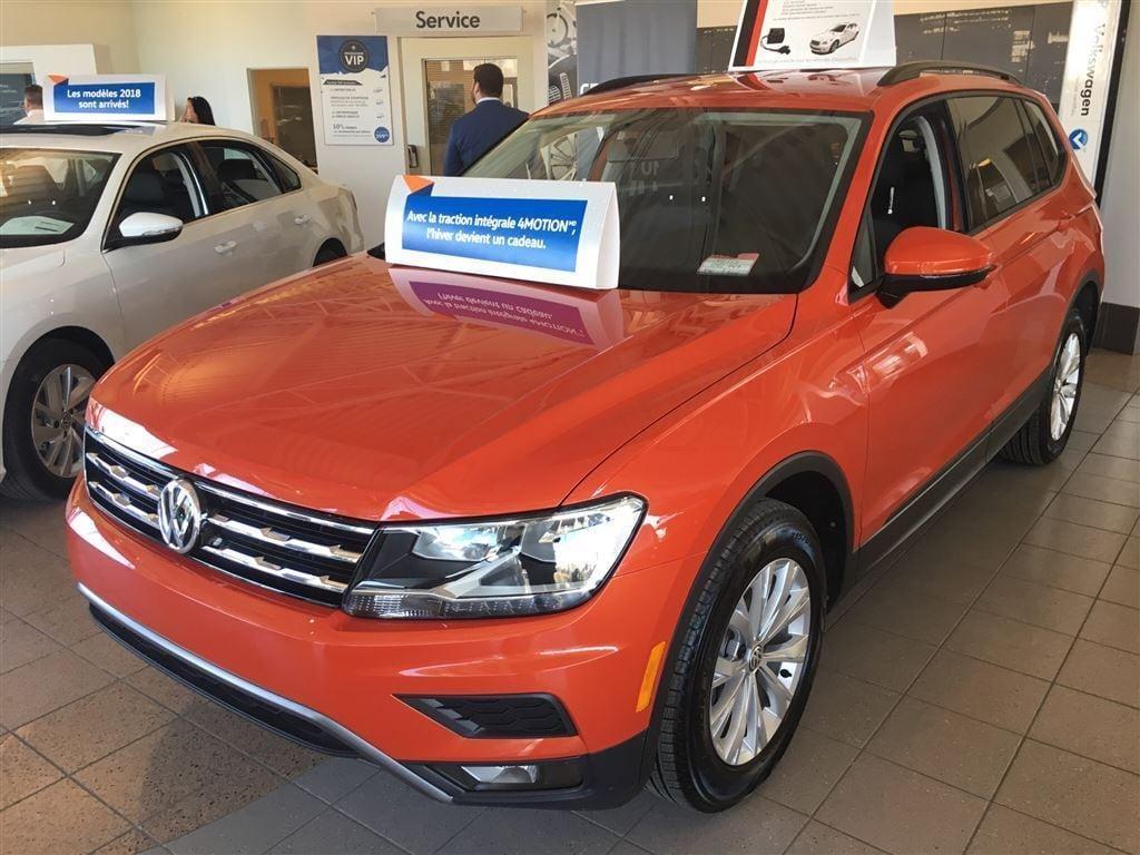 2018 Volkswagen Tiguan Trendline 2.0 8sp at w/Tip 4motion VUS
