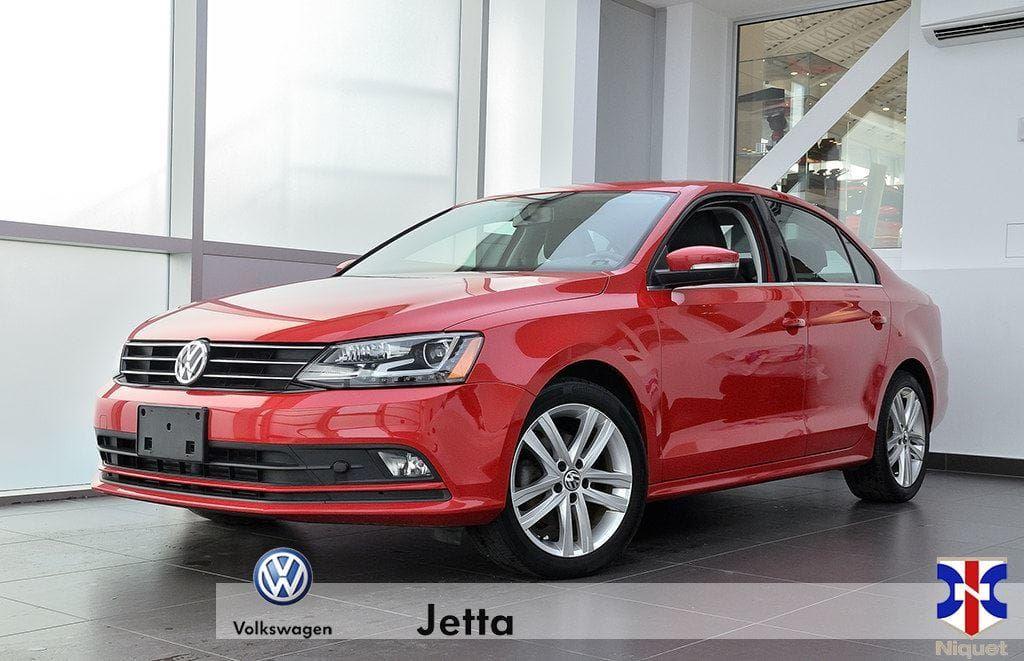2015 Volkswagen Jetta 2.0 TDI Highline * tout équipé * Berline