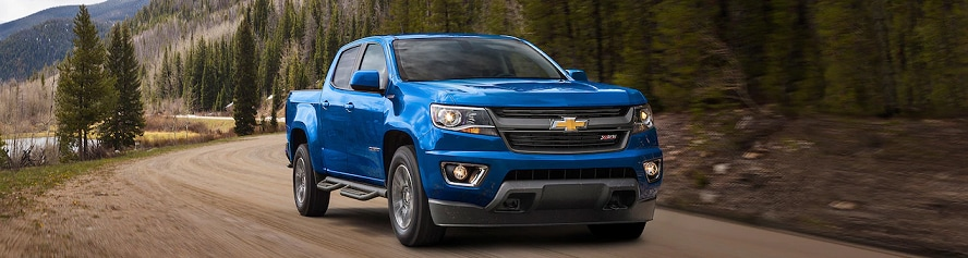 This is the Chevrolet Colorado model page. Inventory listed in Berthierville