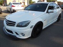 2010 Mercedes-Benz C-Class C63 AMG Full Lip Karbon Exhaust Magnafow Sedan