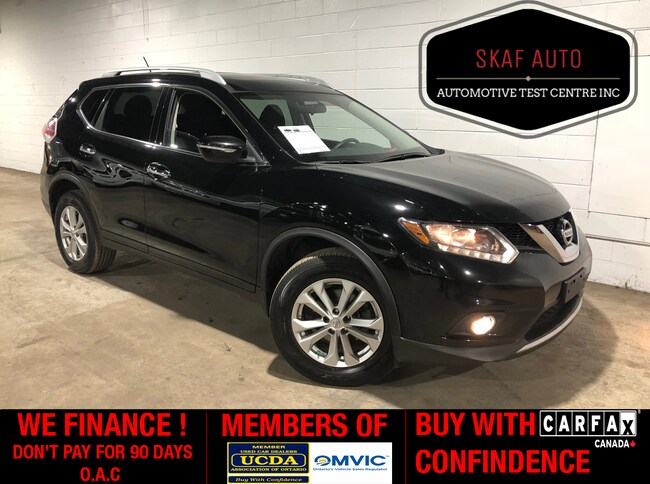 2015 Nissan Rogue SV! PANORAMIC SUNROOF! AWD! WE FINANCE SUV