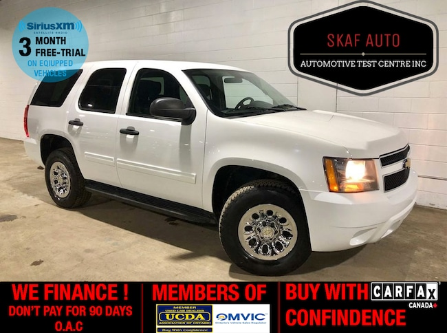 2013 Chevrolet Tahoe 4X4! TOW PACKAGE! ONE OWNER! WE FINANCE! SUV