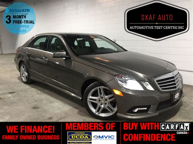 2011 Mercedes-Benz E350 4MATIC NAVIGATION ! PANORAMIC ROOF! WE FINANCE! Sedan