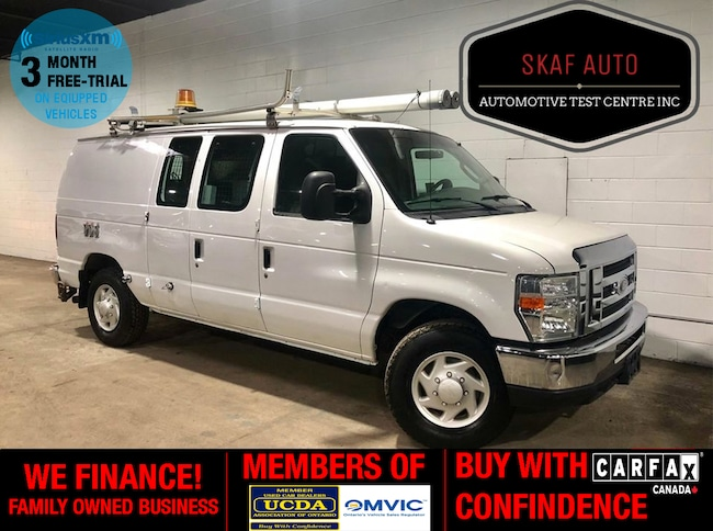 2008 Ford E-350 GENERATOR! LADDER RACK! LOW KM! ONE OWNER! Cargo