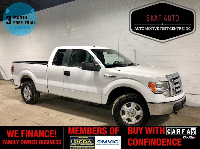 2010 Ford F-150 4x4! 4.6L V8! ONE OWNER! WE FINANCE! Extended Cab