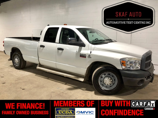 2008 Dodge Ram 3500 DIESEL! LONG BOX! LOW KM! ONE OWNER! Quad Cab