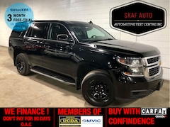 2015 Chevrolet Tahoe 4X4! POLICE PACKAGE! ONE OWNER! WE FINANCE! SUV