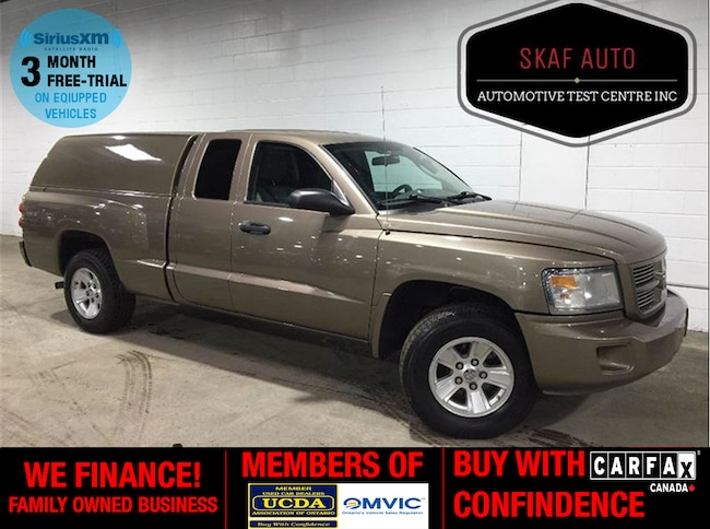 2010 Dodge Dakota ! 4X4! MATCHING CAP! ONE OWNER! WE FINANCE! Extended Cab