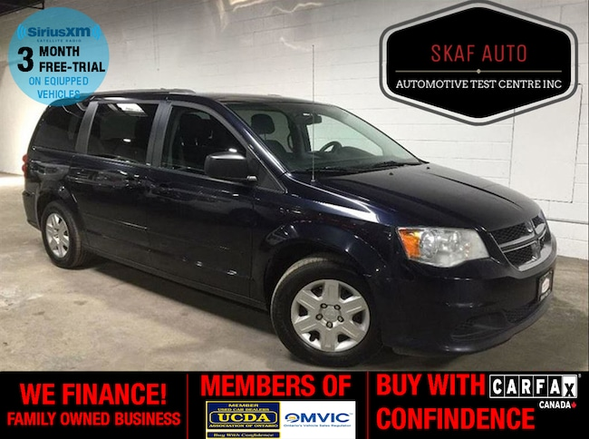 2011 Dodge Grand Caravan FULL STOW & GO! REAR AIR! NO ACCIDENTS! ONE OWNER! Minivan