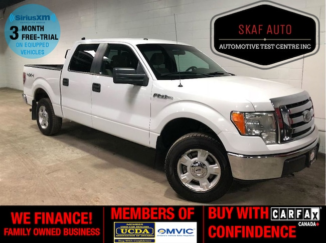 2010 Ford F-150 ! CREW CAB! 4X4! XTL! SHORT BOX! ONE OWNER! WE FIN Crew Cab