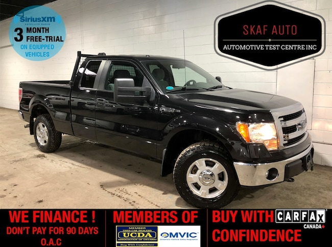 2013 Ford F-150 4X4! 5.0L! TOW PACKAGE! WE FINANCE! Extended Cab