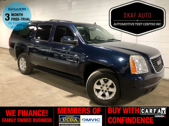 2009 GMC Yukon XL 8 PASSENGER! 4X4! LEATHER! NO ACCIDENTS! SUV