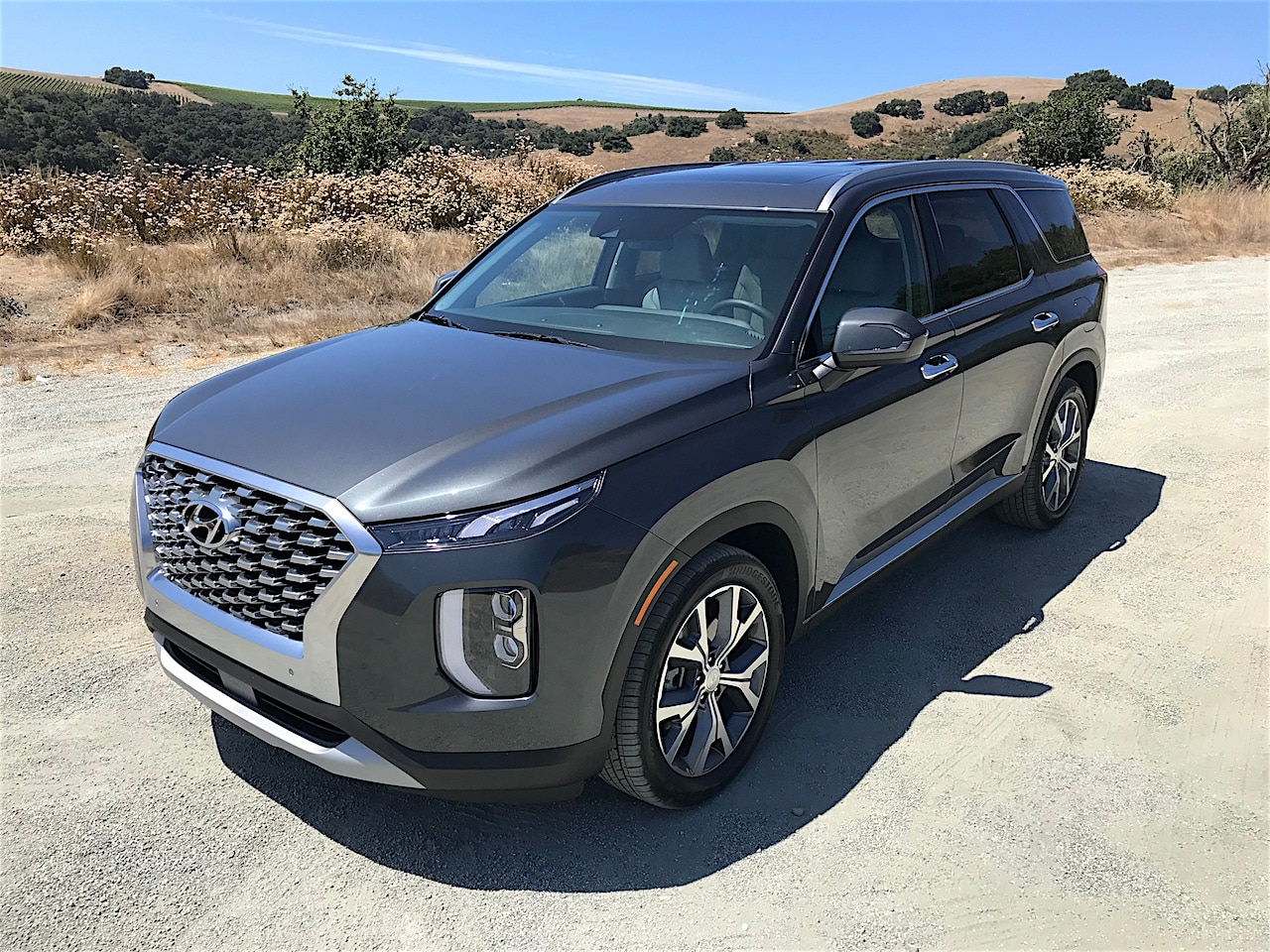 See the exterior of the 2020 Hyundai Palisade SEL AWD