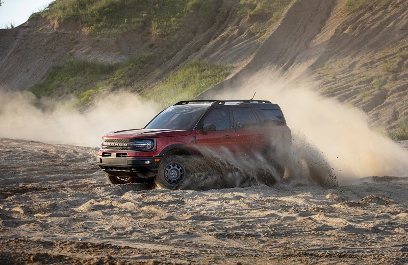 View of the exterior of the 2020 Ford Ford Bronco Sport