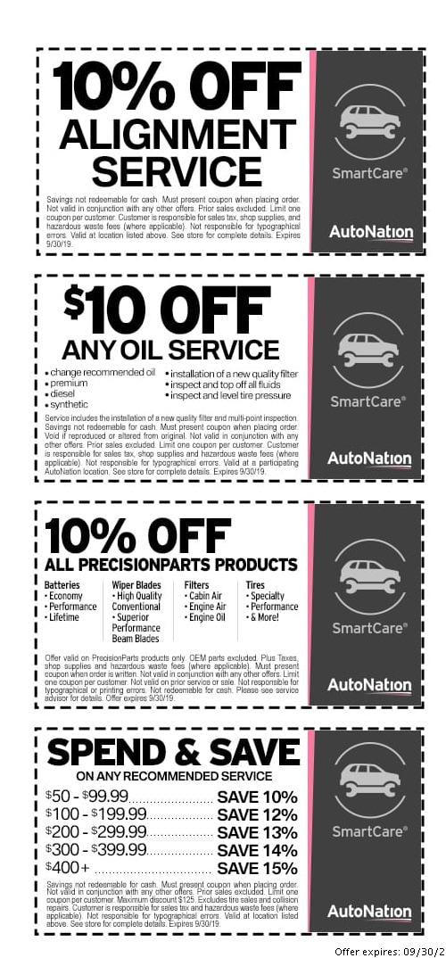 Ford Service & Parts Specials | AutoNation Ford Katy in Katy
