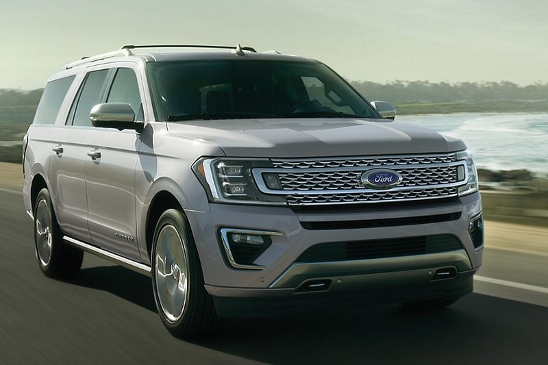 Exterior view of the 2021 Ford Expedition MAX