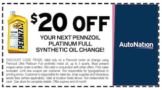 Pennziol Oil Coupon Discount